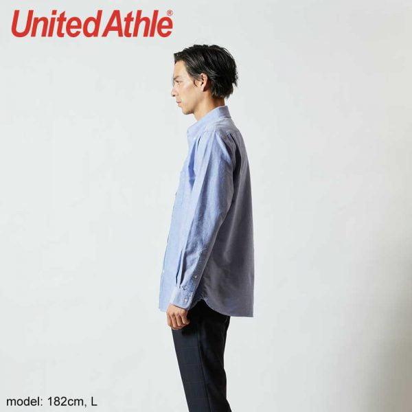United Athle 1269-01 Adult Oxford Long Sleeve Shirt