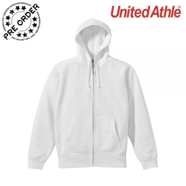 United Athle 5620-01 10.0 oz T/C Full Zip Hoodie