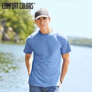 COMFORT COLORS 1717 Adult 6.1oz Ringspun Garment-Dyed T-Shirt (US Size)