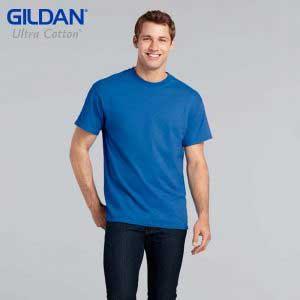 Gildan 2000 6.0oz Ultra Cotton 成人 T 恤 (美國尺碼)