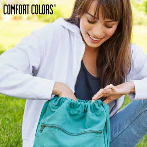 COMFORT COLORS 342 Canvas Cinch Sak