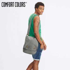 COMFORT COLORS 343 Canvas Field Bag