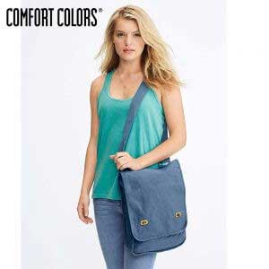 COMFORT COLORS 343 Canvas Field Bag
