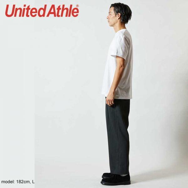 United Athle 5001-01 日本新款優質潮流全棉 T 恤