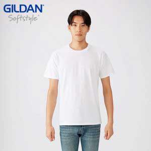 GILDAN 63000 4.5oz SOFTSTYLE 成人環紡 T 恤