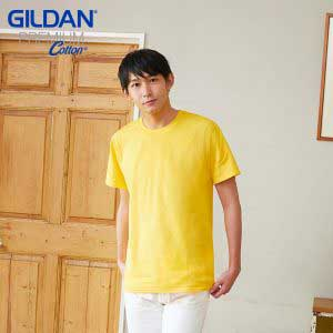 Gildan 76000 5.3oz Premium Cotton Adult Ring Spun T-Shirt