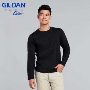 Gildan 76400 5.3oz Premium Cotton Long Sleeve T-Shirt