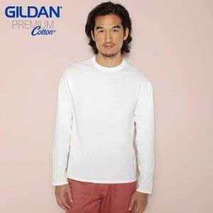 Gildan 7640A Premium Cotton Long Sleeve T-Shirt