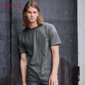 ANVIL 780 5.4oz Adult Midweight Ring Spun T-Shirt (US Size)