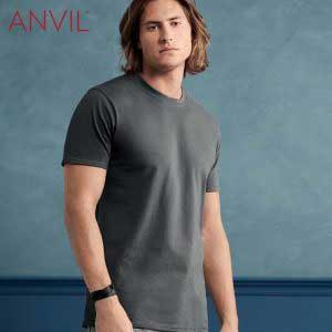 ANVIL 780 5.4oz 成人環紡 T 恤 (美國尺碼)