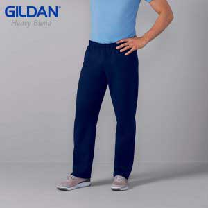Gildan 88400 8.0oz HEAVY BLEND Adult Open Bottom Sweatpants