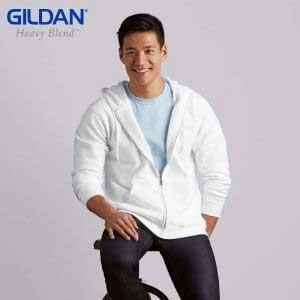 Gildan 88600 8.0oz HEAVY BLEND Adult Full Zip Hooded Sweatshirt