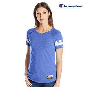 Champion AO350 Authentic Originals Ladies Triblend Varsity T-Shirt