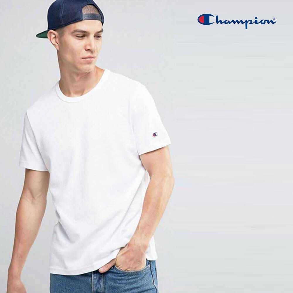 3d0b1906b354c Champion T425 Adult Cotton Short Sleeve T-Shirt - BlankTee.HK