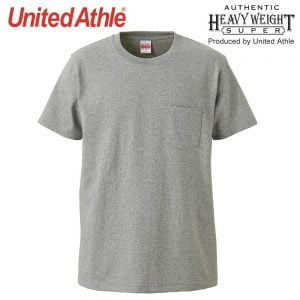 United Athle 4253-01 7.1oz 超重磅有袋短袖 T 恤