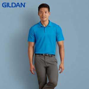 Gildan 73800 Adult Blended Ring Spun DP Sport Shirt