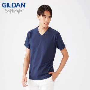 Gildan 63V00 4.5oz SoftStyle Adult V-Neck T-Shirt