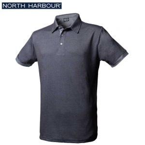 North Harbour 1NH09 雙色網眼吸濕排汗 Polo
