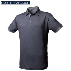 North Harbour 1NH09 雙色網眼 吸濕排汗 Polo