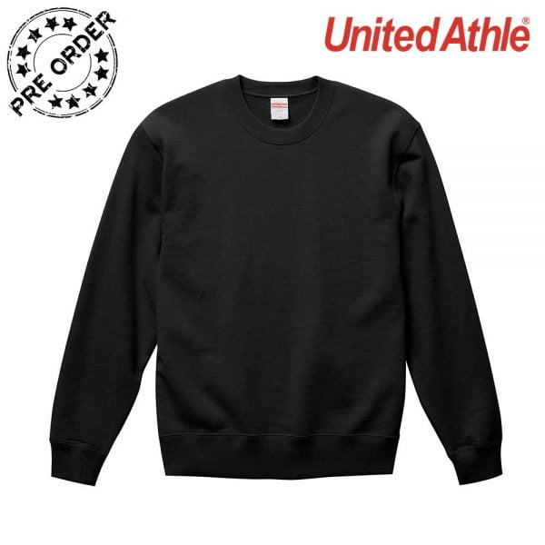 United Athle 5044-01 10.0oz 魚鱗布純棉 圓領衛衣