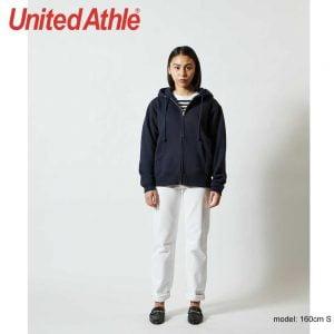 United Athle 5620-01 10.0oz T/C 連帽 拉鍊抓毛衛衣