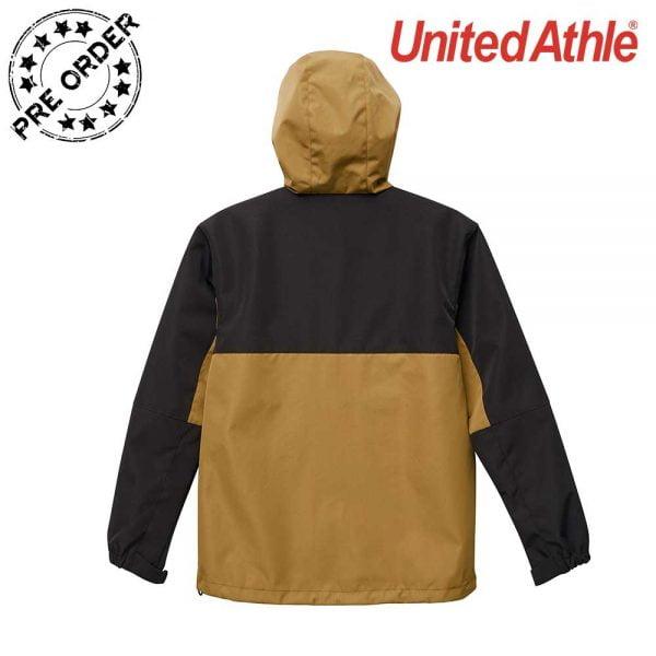 United Athle 7489-01 防風連帽機能撞色外套 (單層)