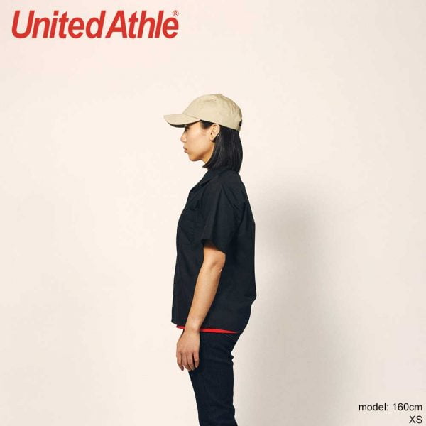 United Athle 1759-01 T/C 開襟有袋恤衫