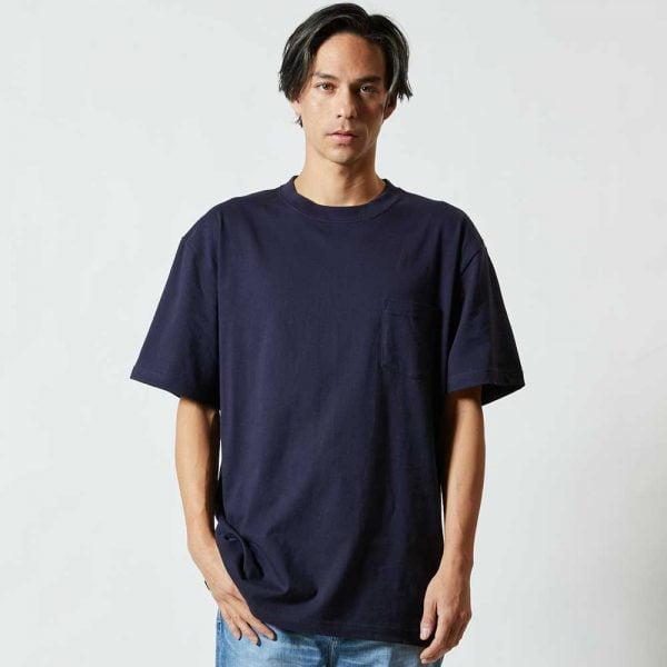 United Athle 5006-01 新款優質潮流全棉有袋 T 恤